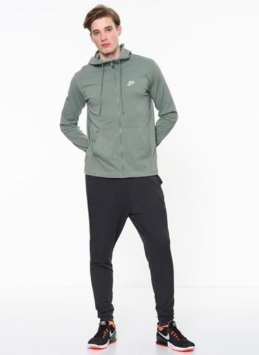 Fermuarlı Kapüşonlu Sweatshirt-Nike